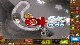 Bloons Monkey City No Farms Strategy - Contested Territory