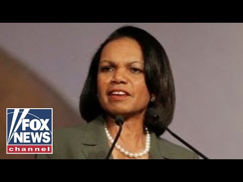 Condoleezza Rice urges lawmakers to wrap up Russia probe