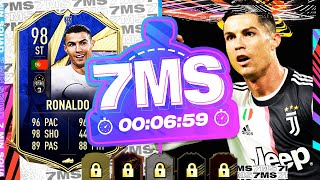 98 TEAM OF THE YEAR RONALDO VS @CapgunTom !! 7 MINUTE SQUAD BUILDER - FIFA 21 ULTIMATE TEAM
