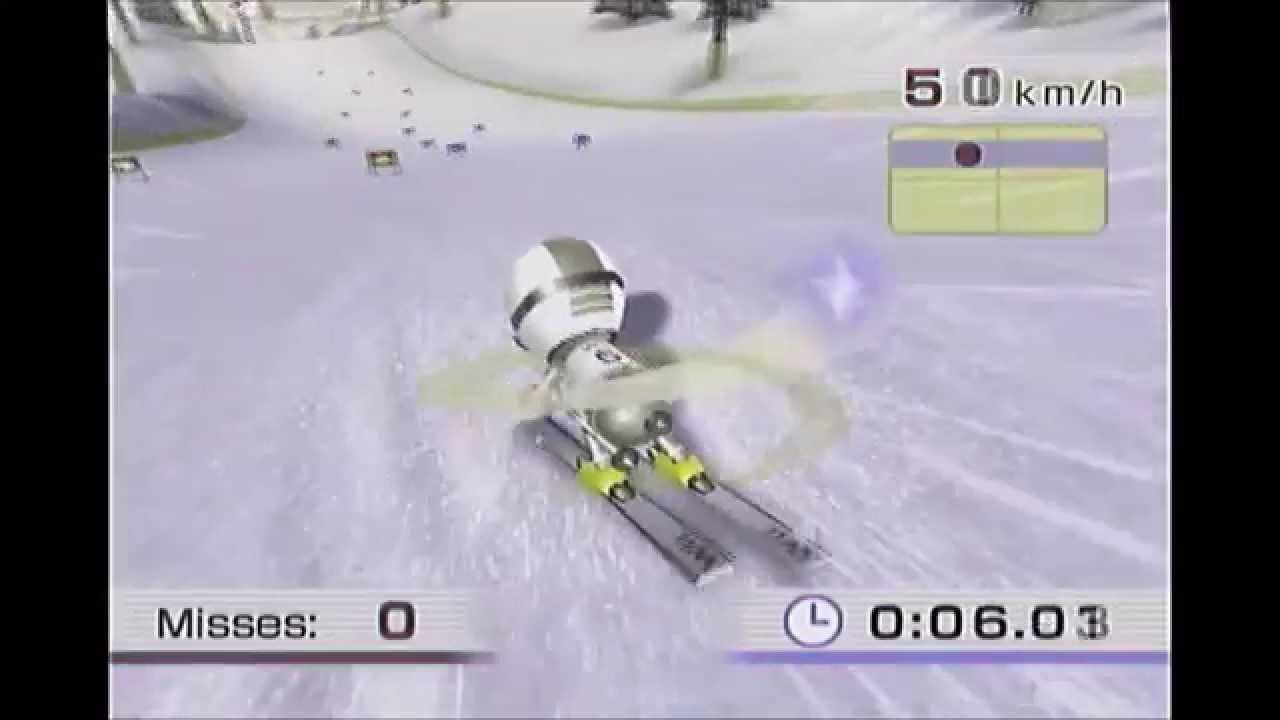 Wii Fit - Ski Slalom Advanced: 0:28.43 (Speed Run)