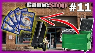 XBOX IN THE DUMPSTER! GameStop Dumpster Diving Haul! Dumpster Diving At GameStop! Dumpster Diving!