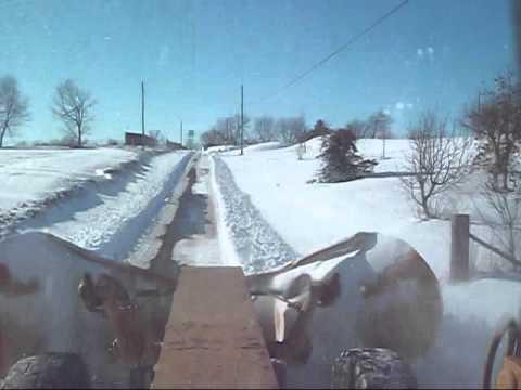 Jackson County Grader V-Plow