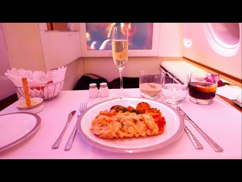 FIRST CLASS THAI AIRWAYS A380 | BANGKOK to FRANKFURT 2017