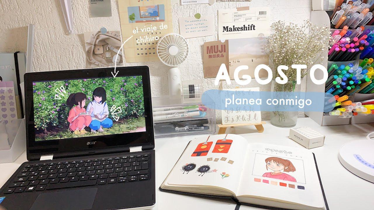 agosto planeación ~ el viaje de chihiro 🍃