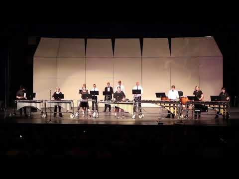 Sky View High School Spring Concert 2018 Percussion Ensemble