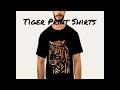 Tiger Print Shirts from I'm G Clothing