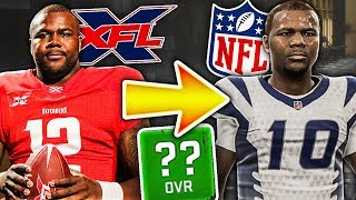 How Would the Best XFL Player do in the NFL?