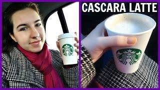 New Starbucks Cascara Latte Review!