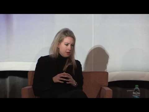 George Shultz interviews Elizabeth Holmes at the 12th SIEPR Economic Summit