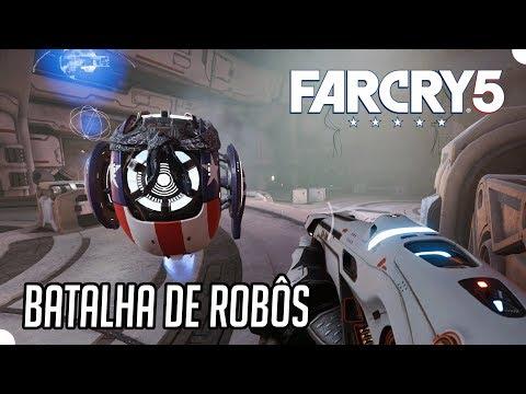 FAR CRY 5 LOST ON MARS #4 - Batalha de Robôs! (PC Gameplay)