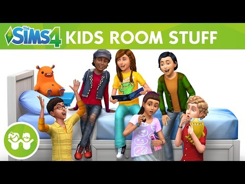 The Sims 4 Kids Room Stuff: Official Trailer