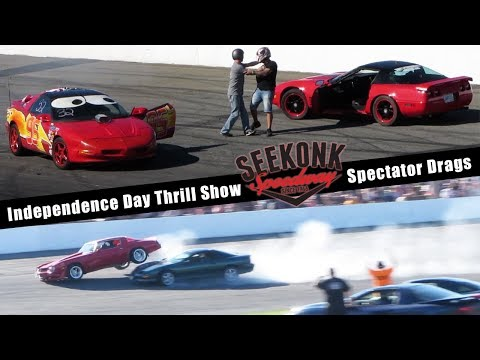 2018 Independence Day Thrill Show Spectator Drags