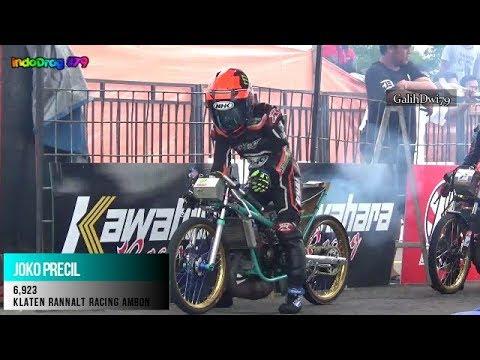 TIMER JAHAT Kelas Para Raja  Final Drag Bike IDC KAWAHARA 2017