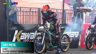 Video TIMER JAHAT Kelas Para Raja  Final Drag Bike IDC KAWAHARA 2017 download MP3, 3GP, MP4, WEBM, AVI, FLV November 2017