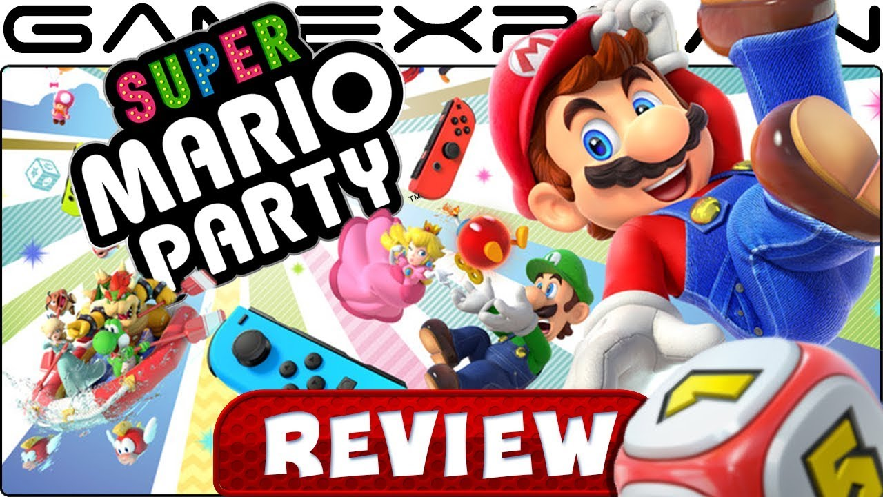 Super Mario Party Review Nintendo Switch