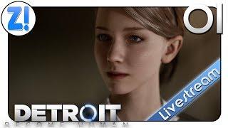 Detroit: Become Human: Die Welt ist, was du daraus machst! PS4 PRO #01   Let's Play [DEUTSCH]