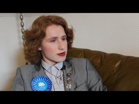 The young Tory determined to defy the stereotype