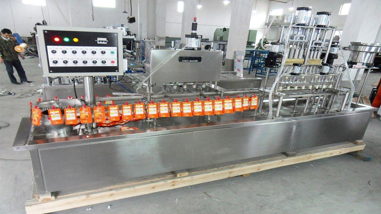 Juice Spout Filling Machine Automatic Linear Filler