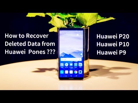 How to Recover Deleted Data from Huawei Mate 10/10 Pro