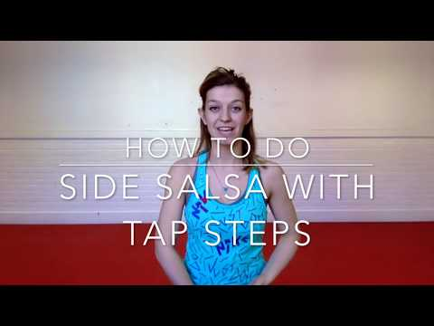 How To Do Side Salsa With Tap Steps In Zumba