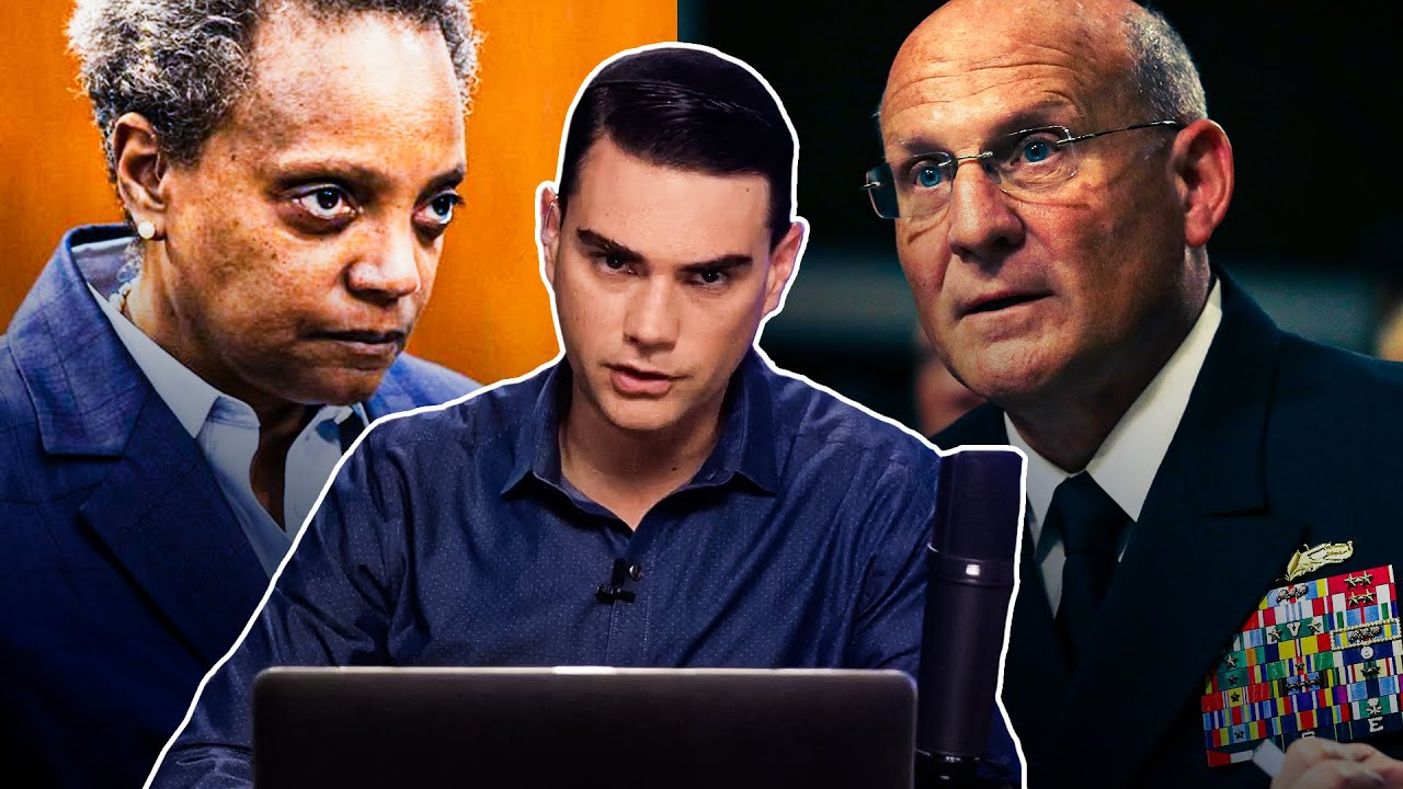 Shapiro WRECKS Navy Admiral and Chicago Mayor Over Critical Race Theory