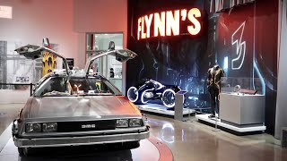 Sci Fi Dream Machines Exhibit at Petersen Automotive Museum - Star Wars / Tron / Back To The Future