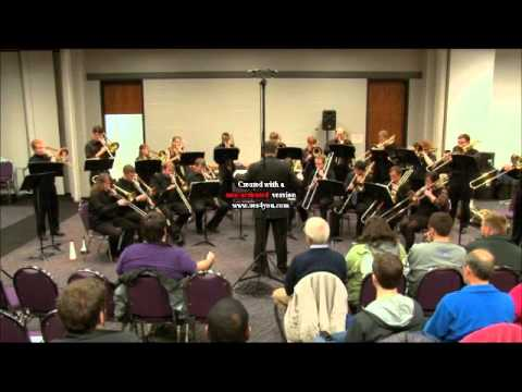 University of Kentucky Trombone Choir, 2013 KMEA, Amenhotep