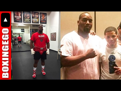 MAYWEATHER PROMO HW LOST 65 LBS 4 CAREER, TALKS MAYWEATHER MASTERING BOXING BUS.(MARCELLUS WILLIAMS)