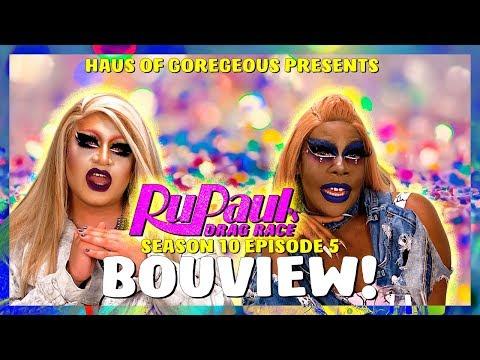 BOUview: Rupaul's Drag Race Season 10 Episode 5 with Kendra Onixxx and Gia Ferrari