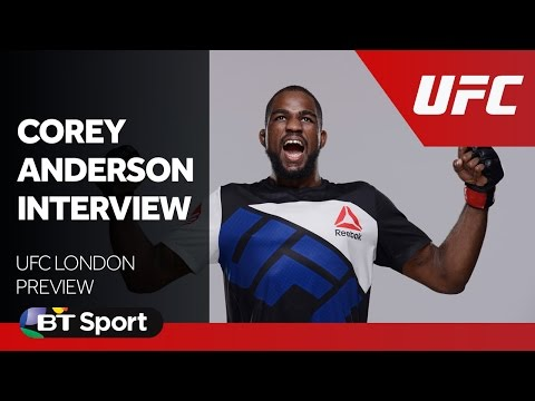 UFC London: Corey Anderson exclusive interview