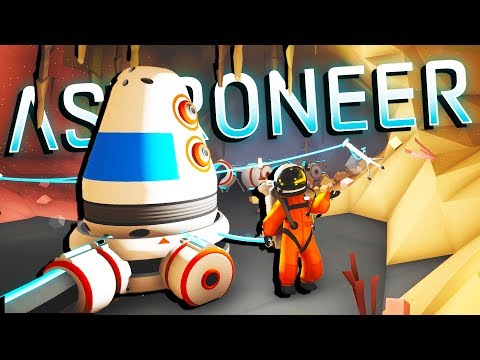 SURVIVING the ARID STORMS in an UNDERGROUND BASE! - Astroneer Gameplay