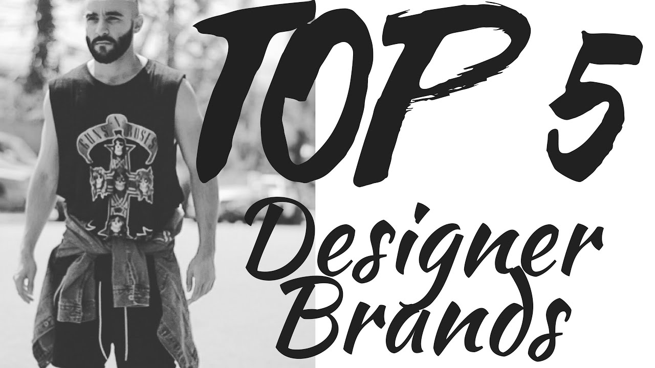Men 39 s designer fashion my top 5 high fashion brands for for High couture brands