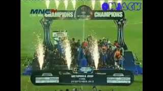 Selebrasi Arema Juara Menpora Cup 2013