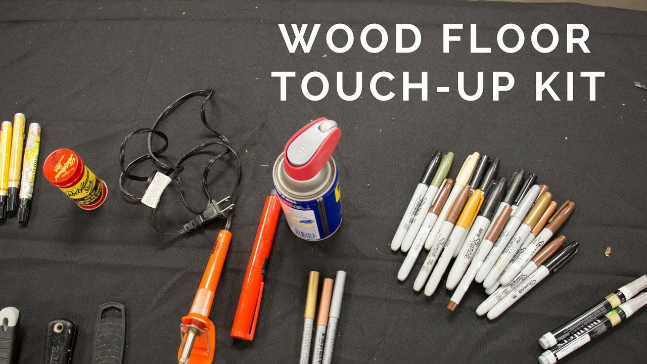 How To Make A Wood Floor Touch Up Kit
