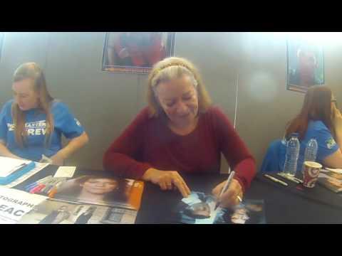 Clare Higgins signing