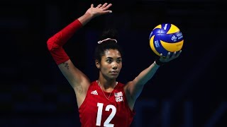 Young and Talented Volleyball Player | Jordan Thompson | VNL 2019 (HD)