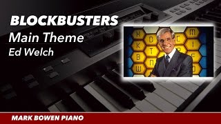 Blockbusters TV Theme (Piano Cover)