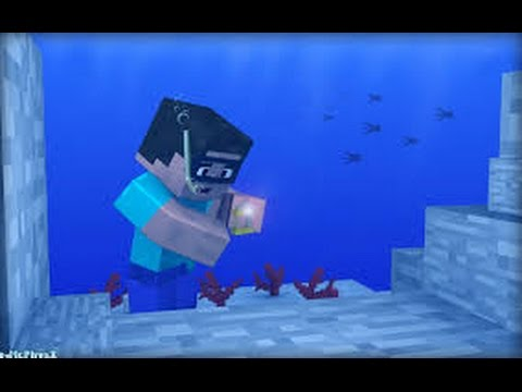 how to catch a monster fish in minecsaft