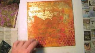 Gel Transfers - Mixed Media Tutorial