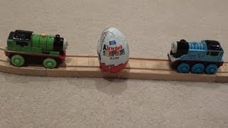 Thomas the tank Engine & the Kinder Surprise Egg