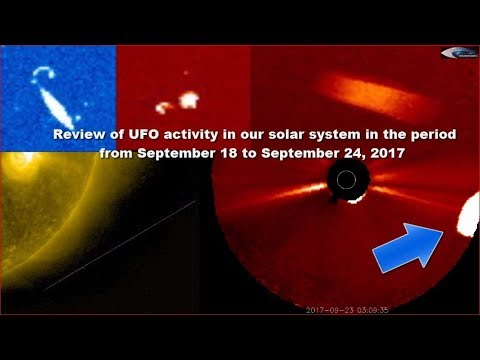 Review of UFO activity in our solar system in the period from September 18 to September 24, 2017
