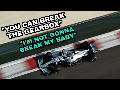 Lewis Hamilton FUNNY post-race team radio after Abu Dhabi 2019!