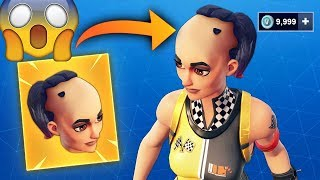 FORTNITE'S NEW TIP!!! HOW TO CUSTOMIZE skins and CHANGE HAIRTORTO YOUR SKIN!!!!