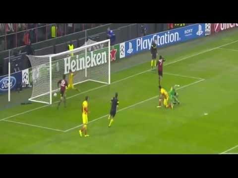 AC Milan Vs FC Barcelona 1-1 All Goals & Highlights 22/10/2013 HD