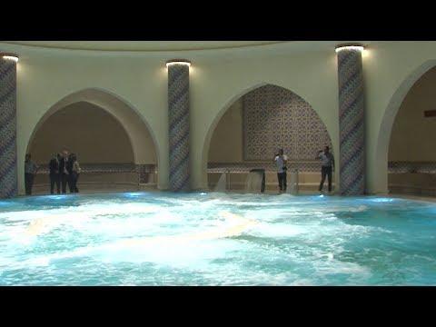 Casablanca: Les hammams de la Mosquée Hassan II ouvrent leurs portes au public