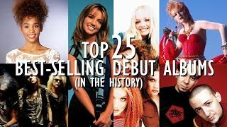 Top 25 Best-Selling Debut Albums