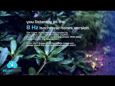 REM sleep 8Hz Low Alpha Wave isochronic tones 1 HOUR