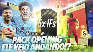 ELE VEIO ANDANDO!!! 5X INFORMS 💰PACK OPENING FIFA 18 ULTIMATE TEAM
