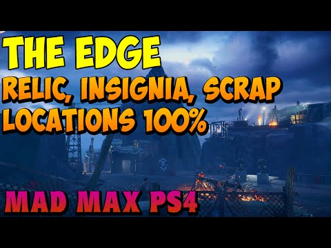 Mad Max - The Edge History Relic, Insignia, and Scrap Locations - Gameplay
