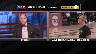 Alex Caruso Joins Inside the NBA - Game 2 | Nuggets vs Lakers | September 20, 2020 NBA Playoffs